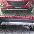 3 шт./компл. ABS пластик передний и задний бампер Защита автомобиля украшение подходит для Hyundai Tucson/Ix35 MK2 2009-2013 2014 2015