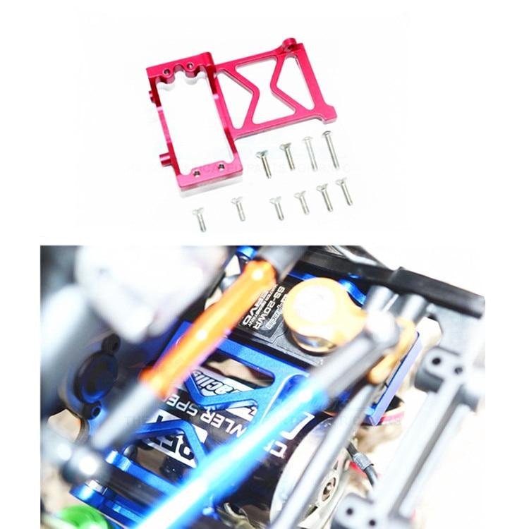Alloy Steering Servo Fixing Bracket Mount for 1/10 HPI VENTURE 116564 ELECTRIC 4WD TOYOTA FJ CRUISER hpi sprint 2 mustang vaughn gittin 4wd 2 4ghz