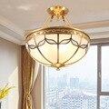 Европейский светодиодный потолочный светильник для ресторана  медный потолочный светильник для гостиной  спальни  новинка  потолочный све...