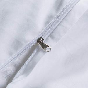 Image 4 - Svetanya white Brocade Bedding Set king queen double size Bedlinen