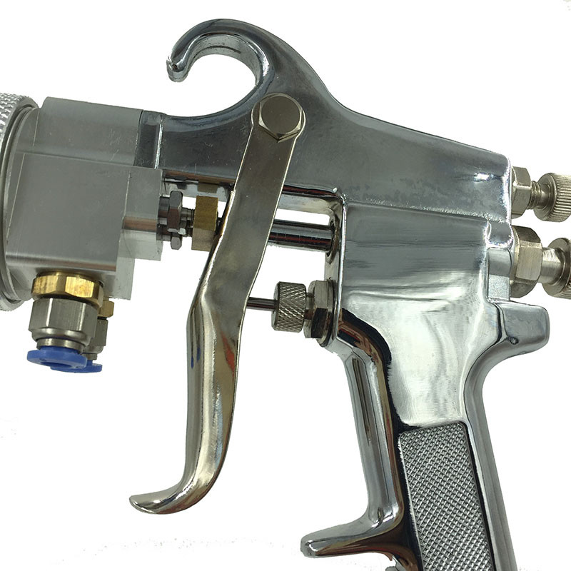 SAT1182 Farba Chrome Podwójny pistolet natryskowy Airbrush Pistolet - Elektronarzędzia - Zdjęcie 4