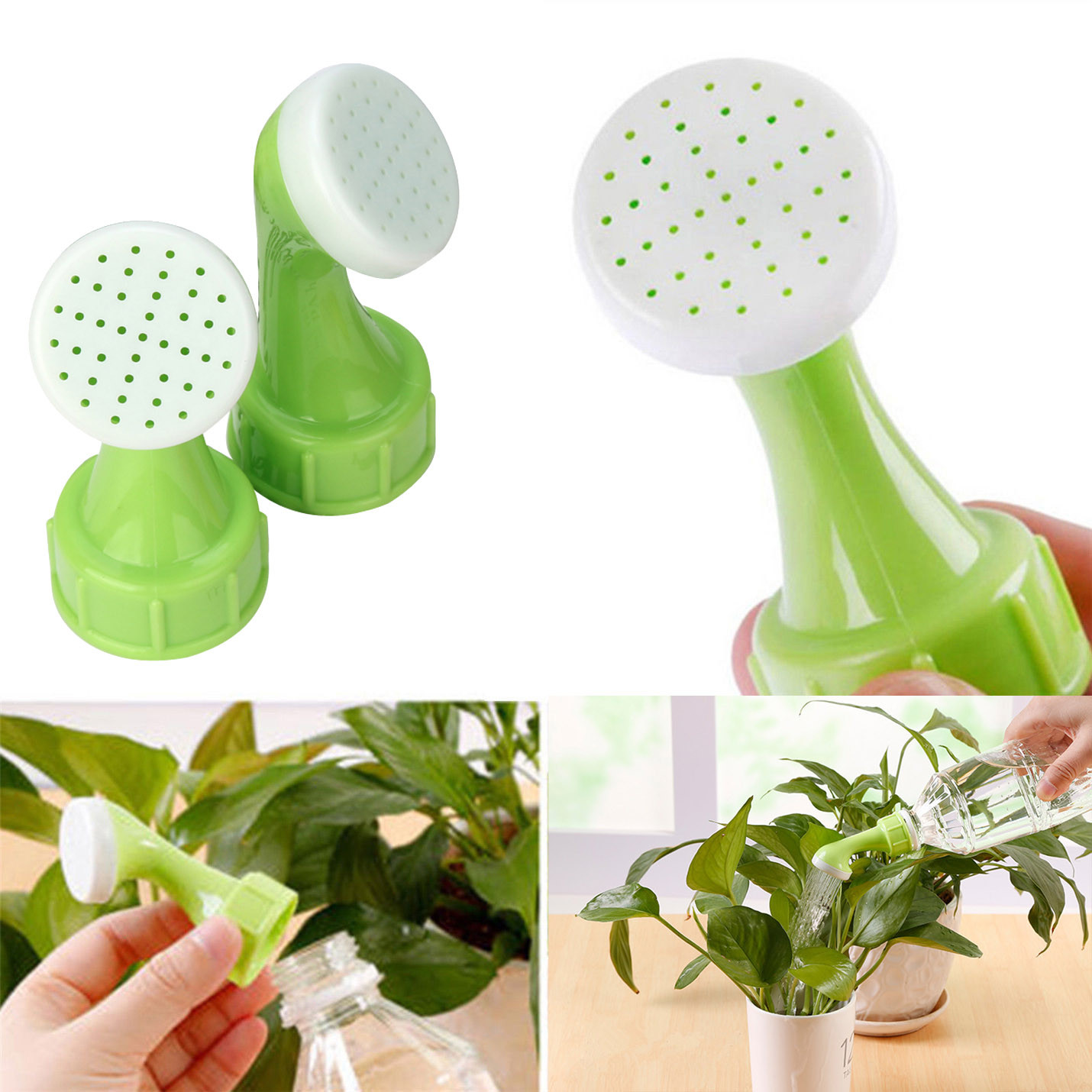 New Garden Spray Waterer Sprinkler Portable Plant Garden Watering Nozzle Tool Used For Almost Of Open Of Bottles Dropshipping