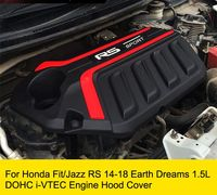 Earth Dreams 1.5L DOHC i VTEC Engine Hood protection Cover Dust Guard For Honda Fit/Jazz 2014 2018