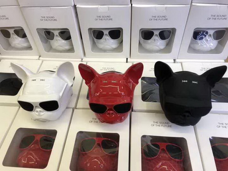bull dog Nano Wireless Speaker Bulldog Bluetooth Speaker Outdoor Portable HIFI Bass Speaker Multipurpose Touch Control (5)