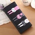 Новый 2015 Женщин Бумажник Милый Кот Кошелек Граффити Feminina Длинный Кошелек Сцепления