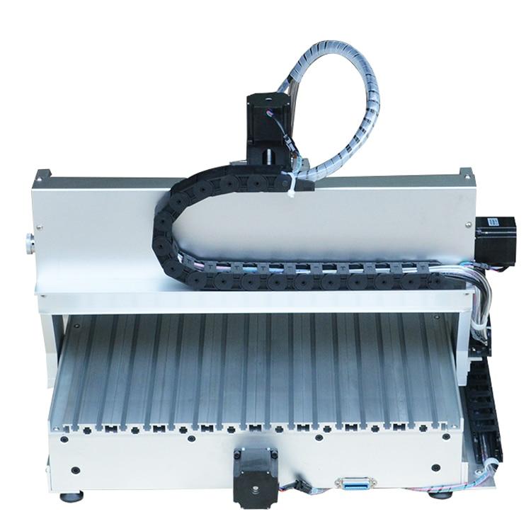Mini 6040 CNC ruutergraveerija 4. telje A-teljega, graveeringuga - Puidutöötlemisseadmed - Foto 4