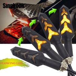 Uniwersalny clignotant moto led 12V LED moto rcycle włącz światła sygnalizacyjne kierunkowskaz dla yamaha ttr250 speed triple 1050 g310gs k1200r na