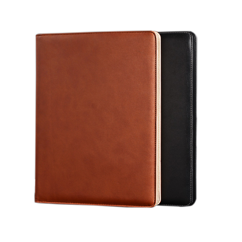 Cheap Price Good Quality Letter Size  A4 PU Leather Folder, Document Folders with calculator new hot a4 pu folder with calculator multifunction folders sales manager folder contract signing folder free shipping