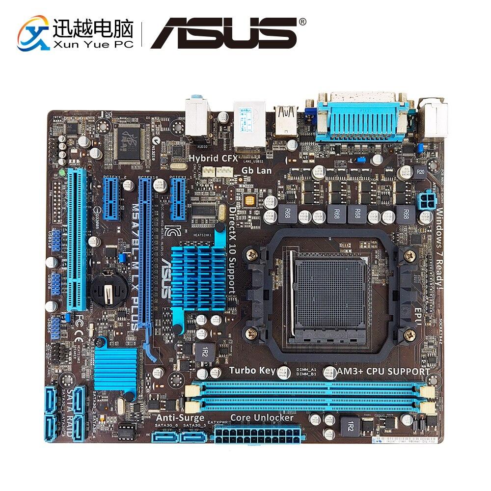 Asus M5A78L-M LX PLUS De Bureau Carte Mère 760g Prise AM3 + DDR3 16g SATA3 USB2.0 COM VGA Micro ATX