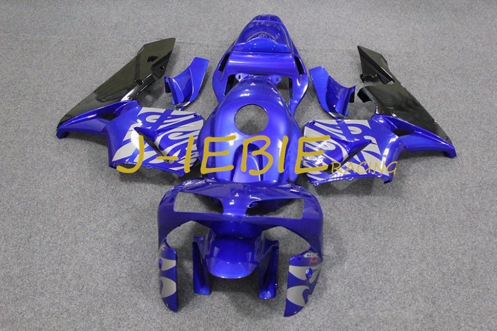 Blue fire Injection Fairing Body Work Frame Kit for HONDA CBR600RR CBR 600 CBR600 RR F5 2003 2004