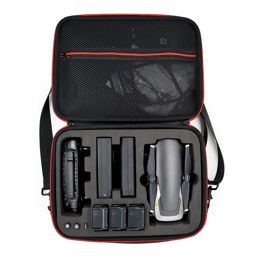 Waterproof Storage Bag Hardshell Handbag Case For Carrying DJI MAVIC Air Drone  3 Batteries And Accessories Carry Tool Bag