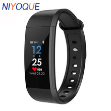 NIYOQUE I9 Smart racelet Band Color Screen IP68 Waterproof Heart Rate Fitness Blood Pressure Oxygen Monitor Smart Wristbands