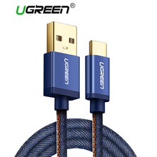 Ugreen USB C Cable for Oneplus 5V2A USB Type C Fast Charge Data Cable for Xiaomi Mi5 Nintendo Switch Samsung S8 USB Type-C Cord