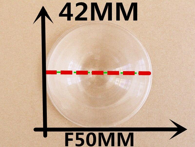 2 db / tétel Átmérő 42 mm Fókusztávolság 50 mm a DIY VR Box 2.0 verziójú virtuális valóság 3D szemüvegéhez. Fresnel Lens ingyenes szállítás