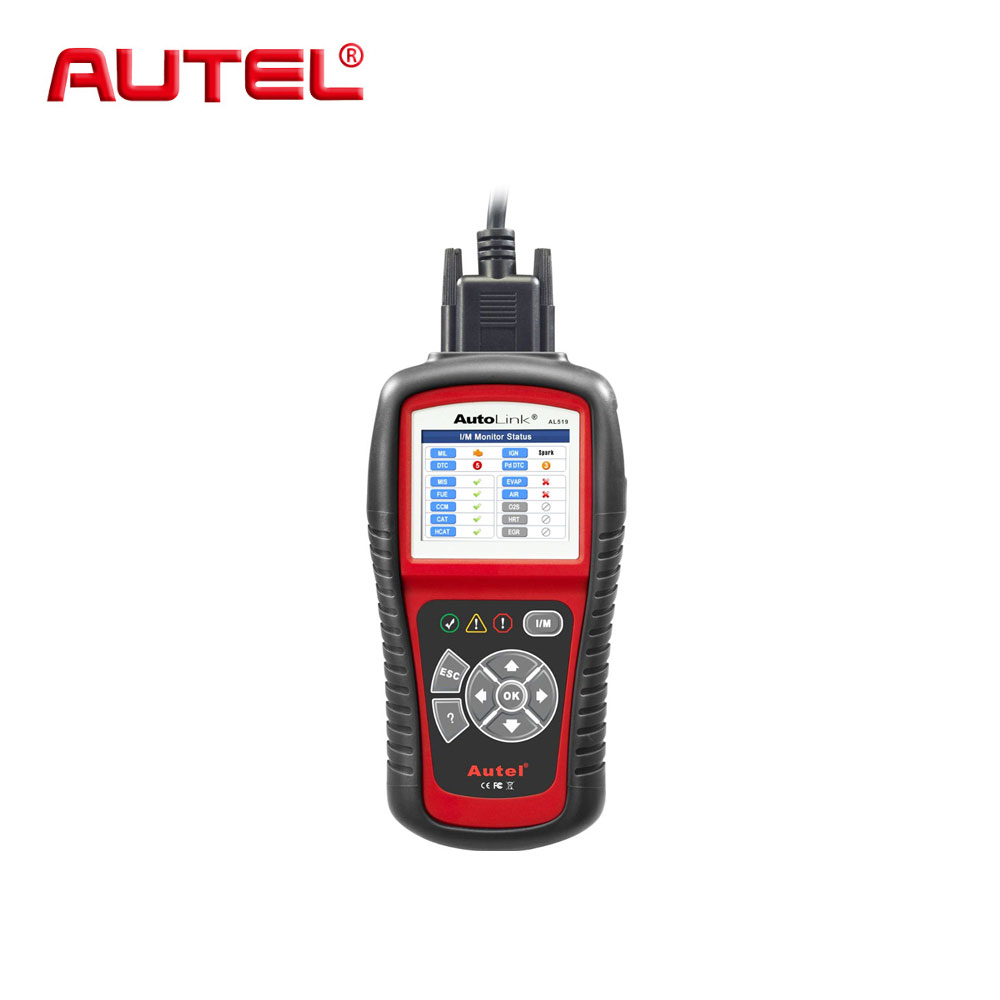 Autel AutoLink AL519 AL 519 OBD2 EOBD Car Code Reader Escaner Automotriz Automotivo Scanner Automotive Diagnostic Scan Tool vgate super scan tool vs600 code reader car diagnostic tool vag obd2 obdii eobd auto scanner automotive diagnostic tool
