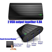 Universal 18650 Power Bank 20000mah Vinsic Powerbank 20000 Mah For IPhone 5 Charge 9 1 Times
