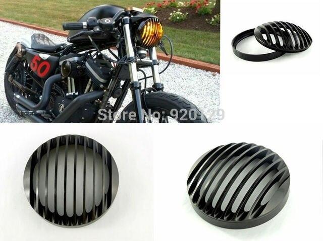 Cercas de aluminio Parrilla Faro Bisel para 2004-2014 Harley Sportster XL 883 1200