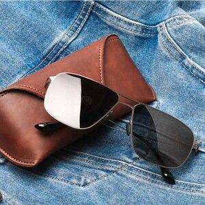 Image 5 - Xiaomi Mijia classique carré lunettes de soleil TAC verres polarisés/lunettes de soleil Pro Protection UV contre les taches dhuile usage extérieur