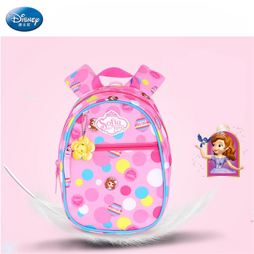 f01fc20a1b9a Disney 2018 Princess Sophia Children Backpacks kindergarten Schoolbag Kids  Backpack Children School Bags Baby Girls Backpacks-in School Bags from  Luggage ...