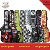 Waterproof 20mm Thicken 40 41 Electric Bass Folk Guitar Guitar Bag Case Backpack Guitarra Bass Accessories