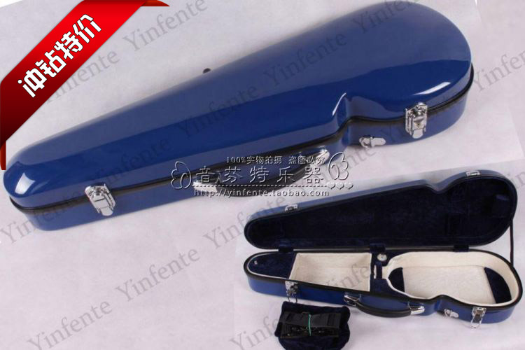 ФОТО Quality violin glazed steel box violin  case