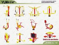 amusement park equipment body building equipment,gym fitness outdoor exercise equipments