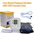 Cuidados de saúde Digital LCD Monitor de Pressão Arterial Braço Esfigmomanômetro Tonômetro de Equipamentos Médicos Medidor de Pressão Arterial Tensiometro
