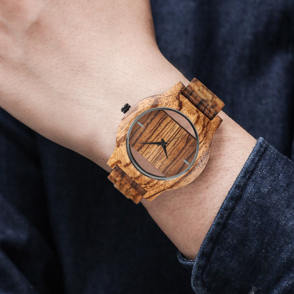 YISUYA Creative Men Hollow Bamboo Wooden Watches Fashion Watches Unique Handmade Wood Wristwatch Sport 17 New Women Relogio 7