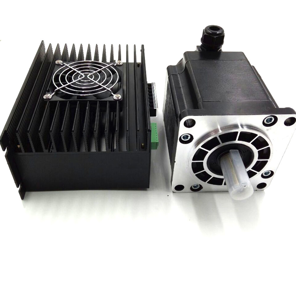 3phase CNC Stepper Drive + NEMA 52 130mm Stepper Motor Hybrid Stepper kits 1.2 Degree 20Nm 6.9A 3M2280-10A+130BYGH350A Low Noise toothed belt drive motorized stepper motor precision guide rail manufacturer guideway