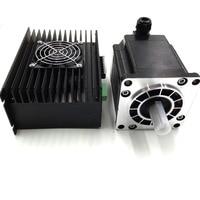3phase CNC Stepper Drive + NEMA 52 130mm Stepper Motor Hybrid Stepper kits 1.2 Degree 20Nm 6.9A 3M2280 10A+130BYGH350A Low Noise