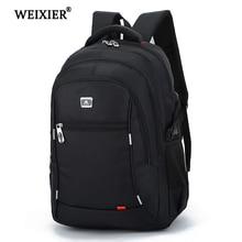 WEIXIER горячая красивая модная Новая повседневная нейлоновая мужская сумка для ноутбука с большой емкостью, мужской рюкзак для путешествий, мужской рюкзак, юношеский рюкзак