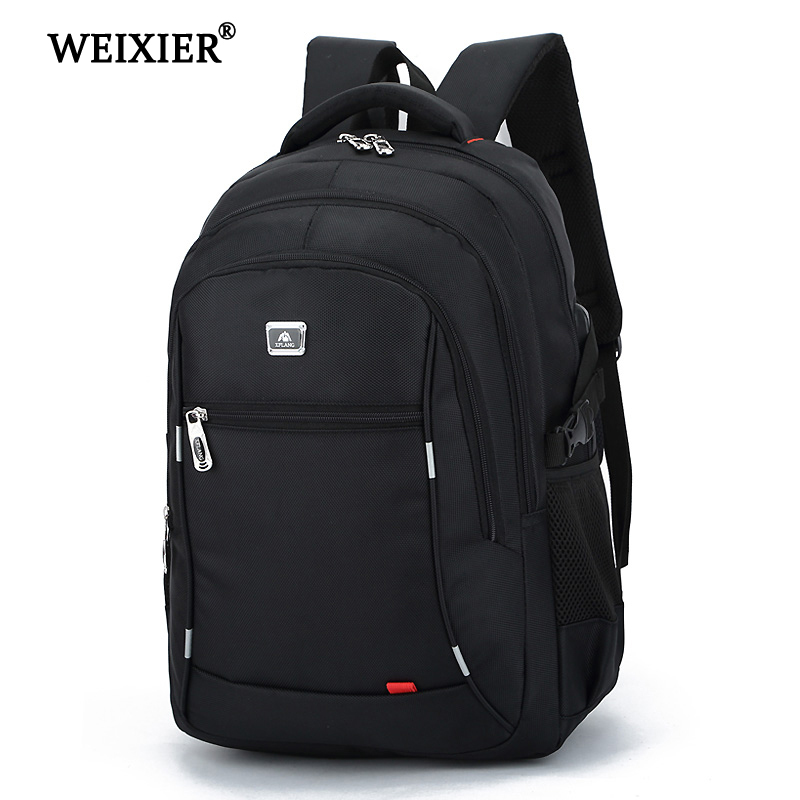 WEIXIER 2019 Hot Handsome Fashion New Casual Large Capacity Nylon Mens Laptop Bag Travel Backpack Juvenile