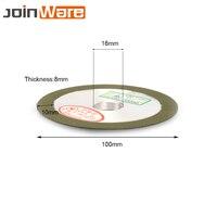 100 мм 150 # алмазный шлифовальный диск поворотный абразивный инструмент для Карбида Металла Сталь Металлообработка 16 мм/20 мм диаметр 8 мм Thicknes ...