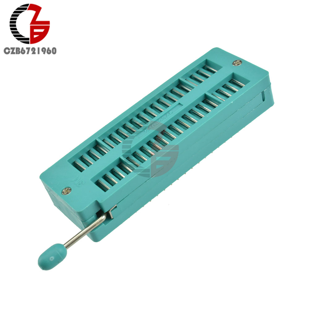 Narrow Body Gold UNIVERSAL Zif Test DIP IC 40 Pin 3M Socket