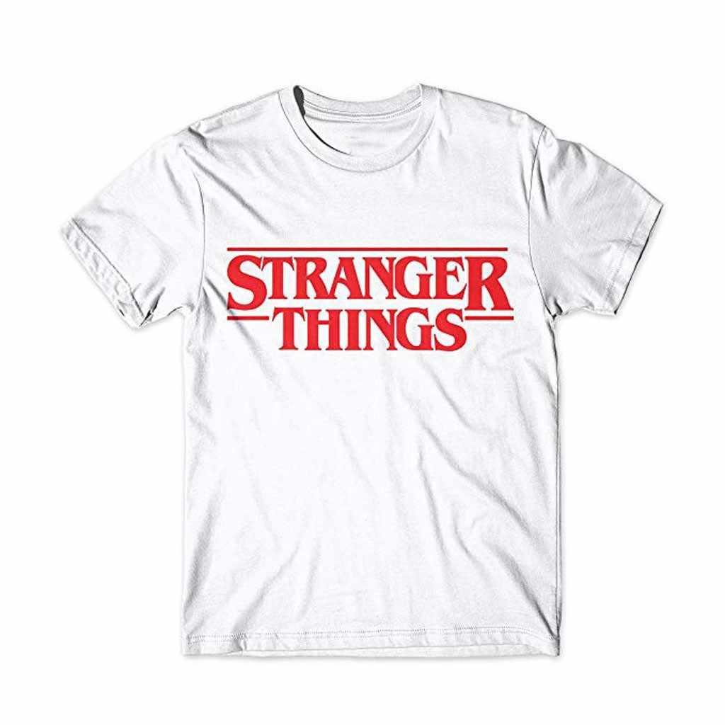 Feitong Stranger Things 3 Funny Tshirt Men Letter Printed T-shirt Upside Down Male Shirt Harajuku Tshirt Ullzang Top Tees
