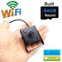 64G Micro Sd Card Ip Camera 720p Wifi Mini Home Small Cam Hd Cctv Security Wireless