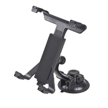 New Universal PC GPS Car Windshield Back Seat Headrest Table Mount Tablet Holder For iPad 2/3/4/5 Tablet Stand Black Wholesale