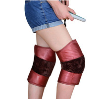 Electric Heating Knee Pads Moxibustion Hot Compress Physiotherapy Arthritis Rheumatism Old Cold Leg Warm Vibrating Massager