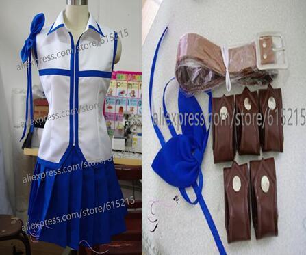 Fairy Tail Lucy Heartfilia Cosplay Costume Custom-made new +belt custom  made any size - Lucy Heartfilia Cosplay Costume Reviews - Online Shopping Lucy