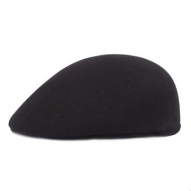 XdanqinX Autumn Winter Warm Berets Simple Solid Color Duckbill Beret Women's Flat Cap Golf Ivy Cap