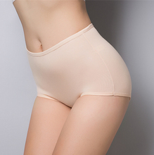 2016 new Women's briefs underwear Stretch bamboo fiber panties Multicolor classic high waist Lady's underwear girl underpants ms