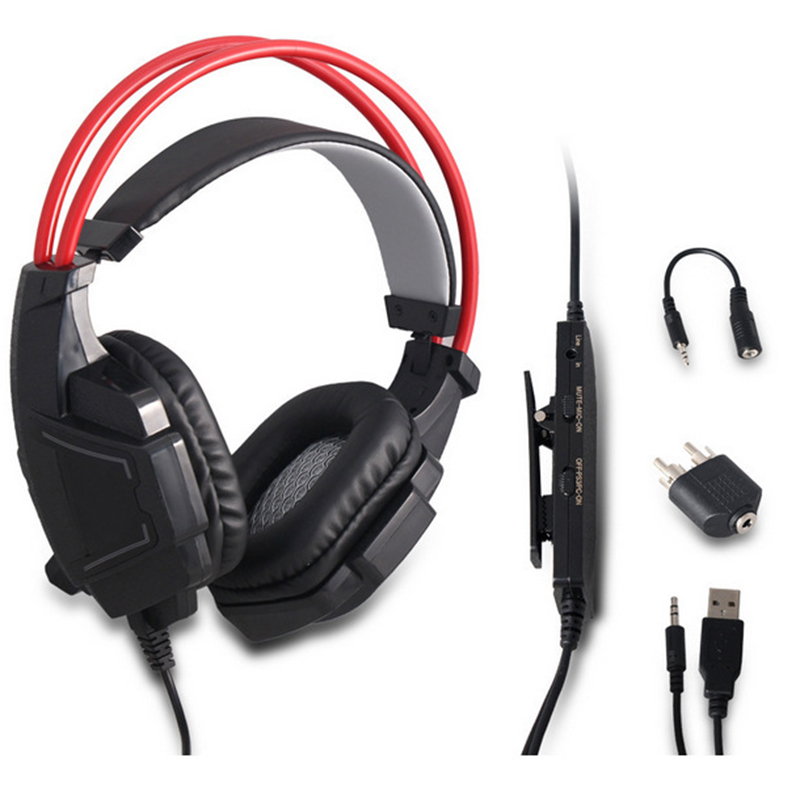 3 5mm Gaming Headset Wired headphone Earphone with Microphone for PS4 Slim Pro PS3 Xbox ONE