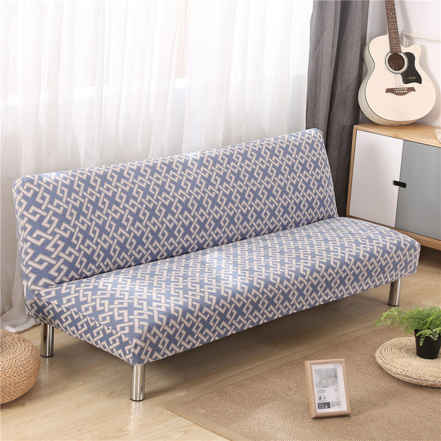 Superb Us 33 89 All Inclusive Folding Armless Sofa Covers For Living Room Slip Resistant Removable Elastic Stretch Slipcovers Sofa Tight Wrap In Sofa Cover Bralicious Painted Fabric Chair Ideas Braliciousco