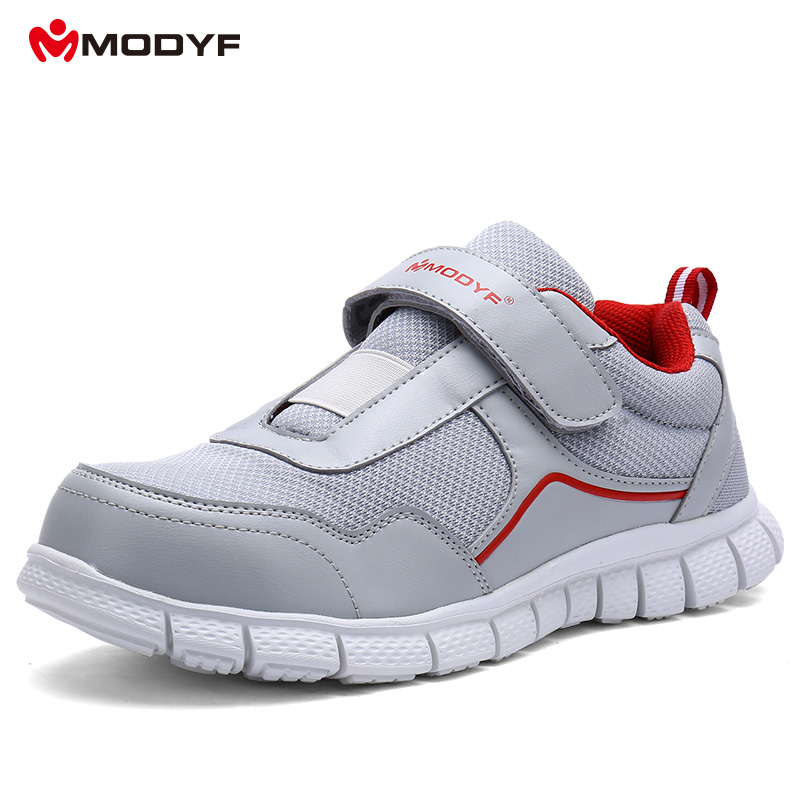 bfb06ecfa0e7 MODYF Men Steel Toe Work Safety Shoes Lightweight Breathable Casual Soft  Sole Footwear Non Slip Puncture Proof With Magic Tape