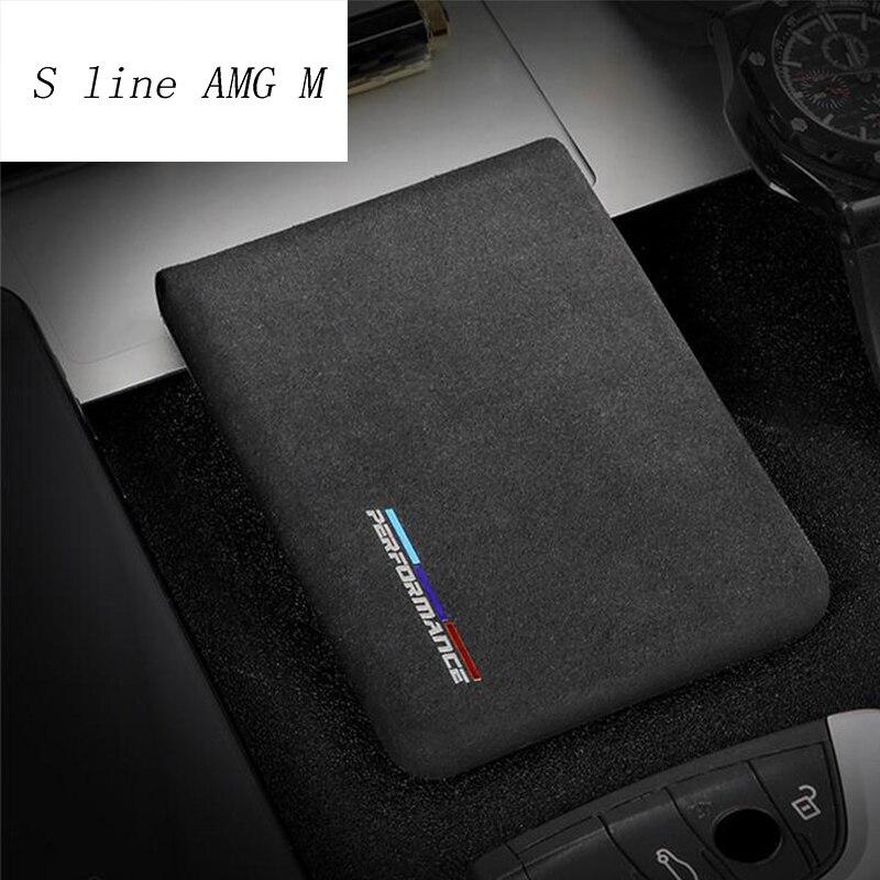Estilo do carro Auto Saco Pacote de Cartões de carteira de Motorista Adesivos Para BMW 5/6/7 Série F10 F20 F30 GT F07 X3 f25 f26 X4 X5X6 E70 E71 F15