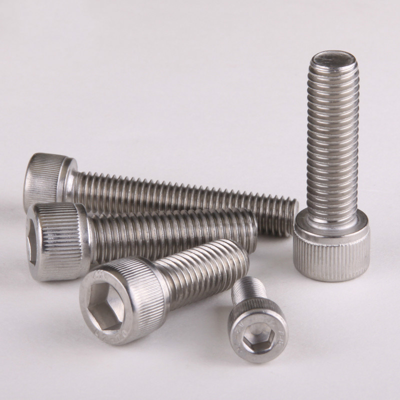 100pcs/Lot Metric Thread DIN912 M2.5 304 Stainless Steel Hex Socket Head Cap Screw Bolts M2.5*6/8/10/12/16/20mm free shipping  50pcs lot metric thread m5x12mm m5 12 mm 304 stainless steel button head hex socket cap screw bolt iso7380 a2 70