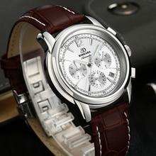 a597bf3a4e6 Novo Dia de Calendário Dos Homens relógio de Pulso Relogio Mecanico  Relógios Mecânicos Do Esporte Para Homens Automáticos de Aço.