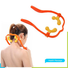 Adjustable Neck Massager Acupuncture Point Massage Apparatus 5858