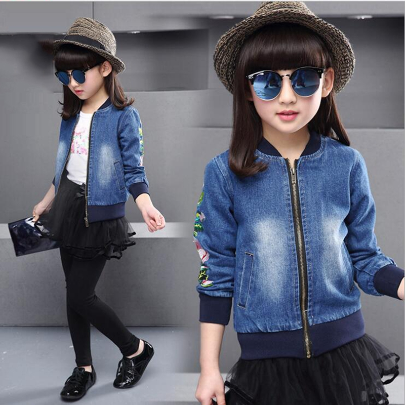Get Yours Today At Ninas South Abington: 3 10Y Kids Girls Clothes New Causal Girl Jeans Jacket Long