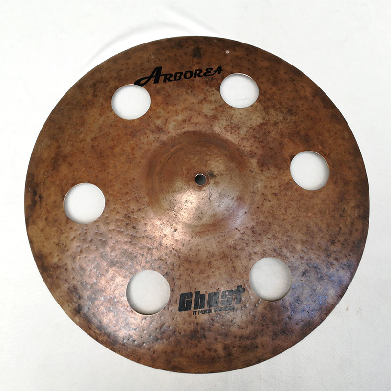 Arborea Solid Ghost Series 17stacker cymbal B20 metal handmade cymbal arborea ghost cymbal set on sale